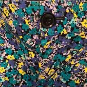 Banana Republic Pants - Banana Republic Floral Work Pants